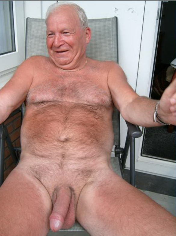 Old guys big dicks