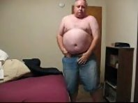 chubby mature men is ready for action