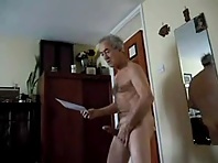 My Silver daddy, a gay mature guy on his 60 met me at local sauna while cruising older gay me..