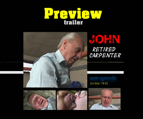 John is an old retired carpenter who need some attentions...