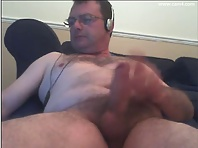 hot daddy masturbating