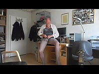 fetish older man wanking 14